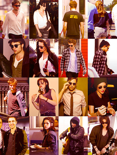 Robert Pattinson & Kristen Stewart 壁紙 called She loves him...He loves her<3