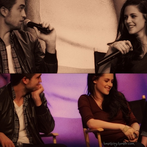 She loves him...He loves her<3 - robert-pattinson-and-kristen-stewart Fan Art