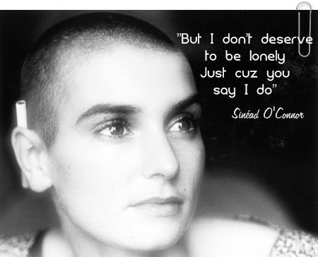 Sinéad O'Connor 语录 to 脸谱