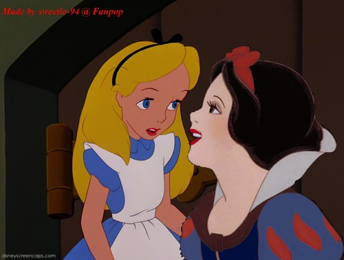 disney crossover achtergrond with anime called Snow White/Alice