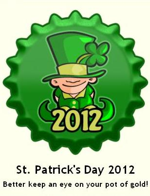 St. Patrick's दिन 2012 टोपी