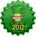 St. Patrick's jour 2012 casquette, cap