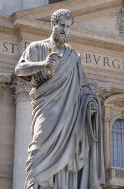 St. Peter the Apostle - The first Pope of the Roman Catholic Church