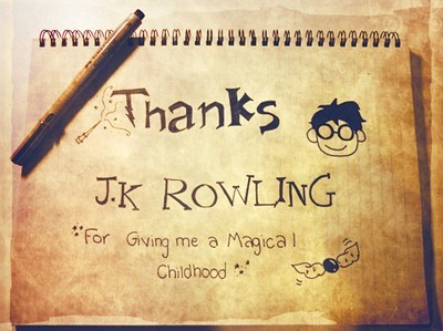 THANKS J.K. ROWLING ♥