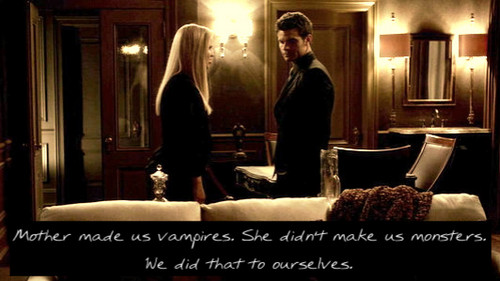 The Vampire Diaries wallpaper containing a living room and a drawing room titled TVD quote