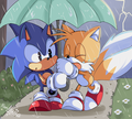 Tails is scared