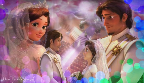 Tangled Ever After Wedding