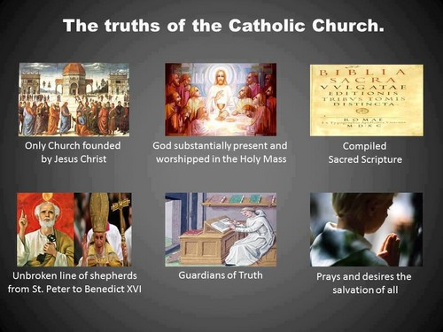 The truths of the Catholic Church