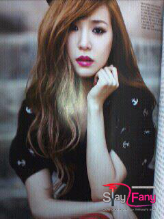 Tiffany @ Vogue Girl Magazine April Issue Fantaken