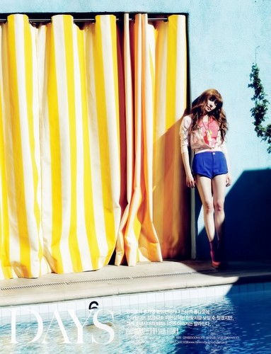 Tiffany @ Vogue Girl Magazine