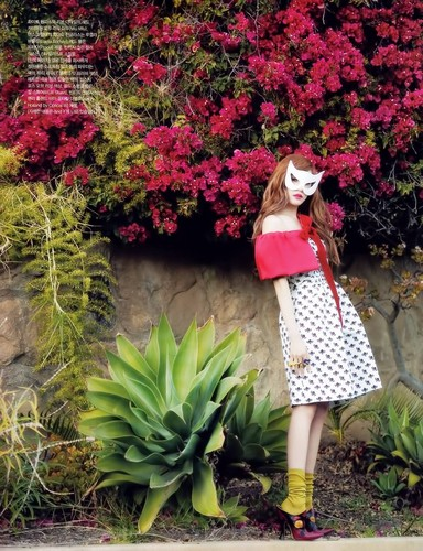 S♥NEISM wallpaper called Tiffany @ Vogue Girl Magazine