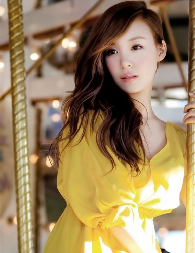 S♥NEISM wallpaper containing a yurt entitled Tiffany @ Vogue Girl Magazine
