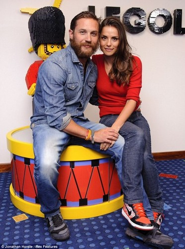 Tom Hardy wallpaper called Tom Hardy & Charlotte Riley at Legoland Hotel Windsor