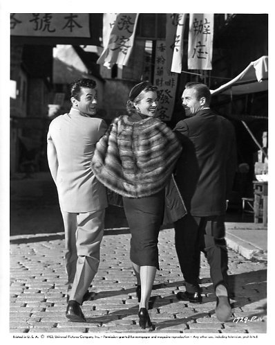 Tony Curtis, Joanne Dru & Lyle Bettger