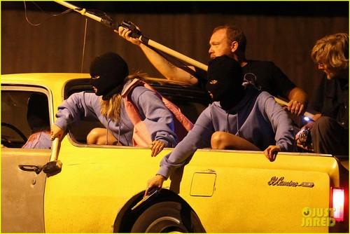 Vanessa Hudgens: 'Spring Breakers' Robbery Scene