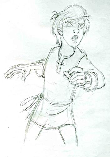 Walt Дисней Sketches - Taran