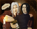 Well... - severus-and-lucius-beneath-the-masks fan art