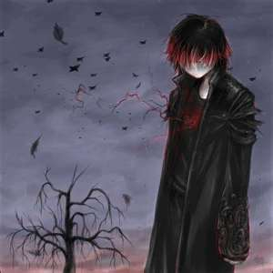 dark anime images what s you lookin at wallpaper and background