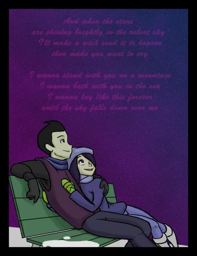 Wilbur and violeta