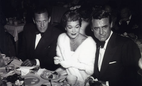 William Holden, Jane Wyman & Cary Grant