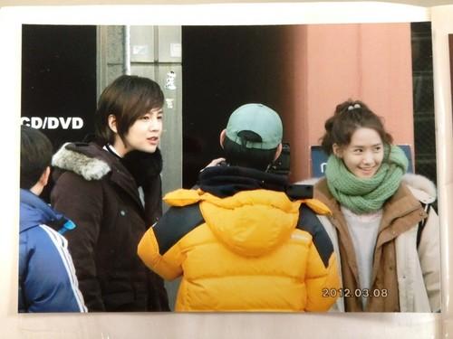 Yoona @ KBS Cinta Rain Shooting