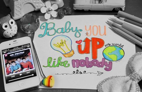 baby u light up my world like nobody else ♥
