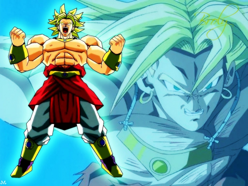 Dragon Ball Z Mania Images Crazzy Broly HD Wallpaper And Background Photos