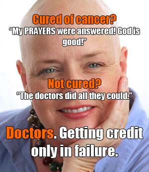doctors getting credit for failure