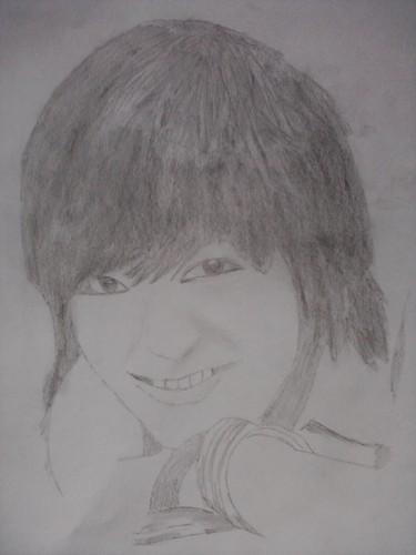 drawing of lee min hoo