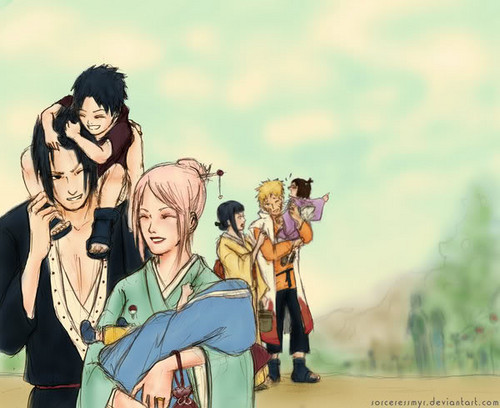 family - sasusaku-and-naruhina Photo