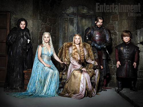 Game of Thrones Cast- EW تصویر