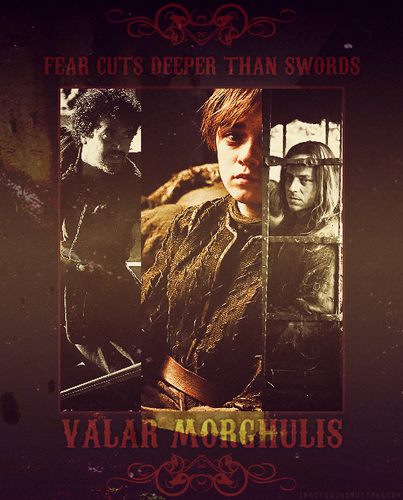 Syrio, Arya & Jaqen