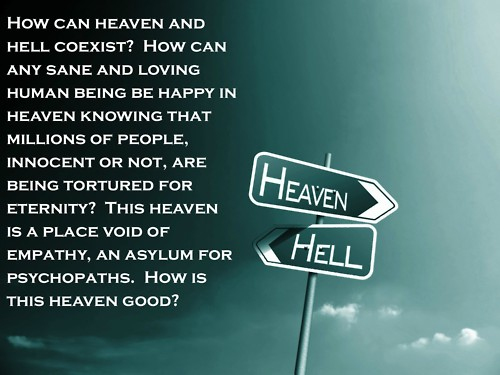 essay heaven hell Read this religion essay and over 88,000 other research documents heaven and hell heaven and hell everyone has a soul every soul has a destiny in the bible, god.
