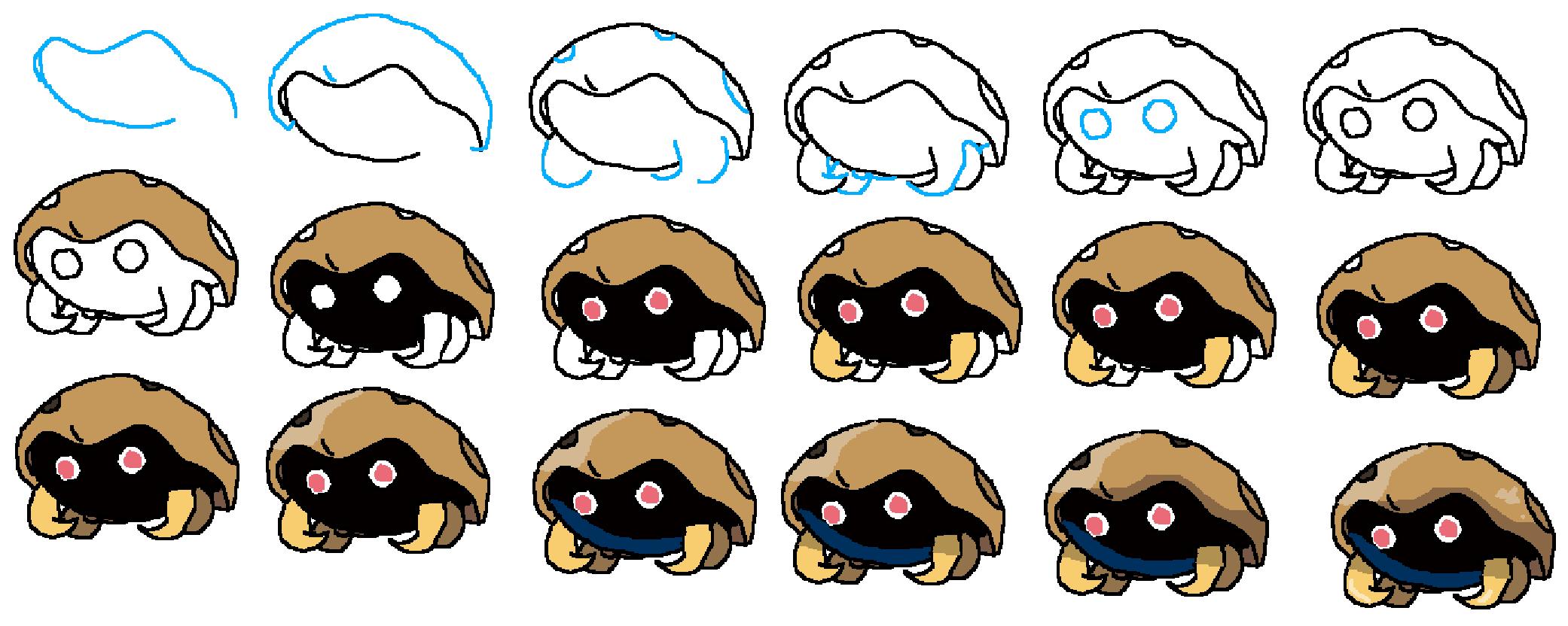 how to draw kabuto