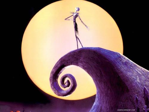 Nightmare Before Christmas wallpaper possibly with a conch called jack