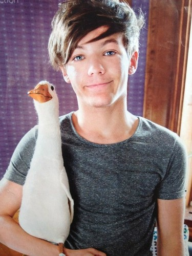 louis and a duck?