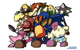 Super Mario RPG karatasi la kupamba ukuta with anime entitled mario rpg