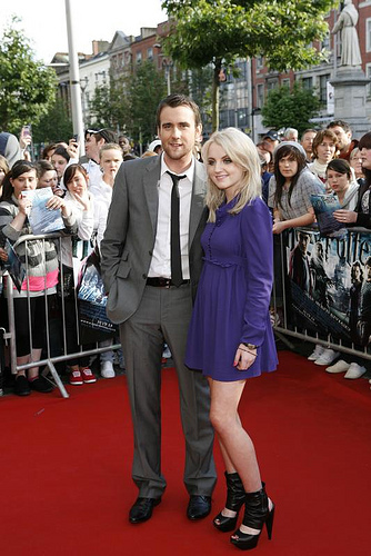 matt lewis and Evanna Lynch
