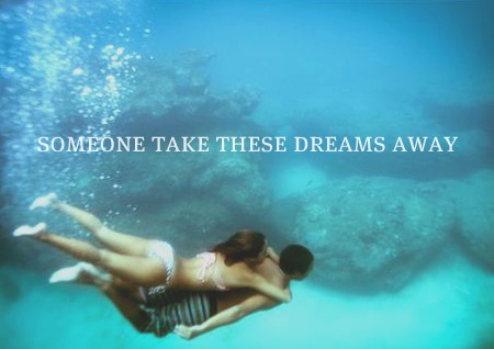 Beautiful Pictures karatasi la kupamba ukuta titled someone take these dreams away .. ♥