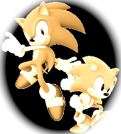 super modern and classic sonic