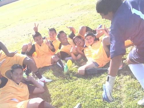 the Boys Soccer Team