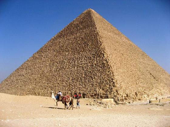 a history of the egyptian pyramids The pyramids of giza are among the 7 ancient wonders of the world comprised of 3 large pyramids, they were constructed for the.