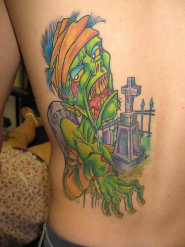 zombie tatto