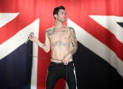 Adam Levine wallpaper possibly with an undergarment, a lingerie, and skin titled <3