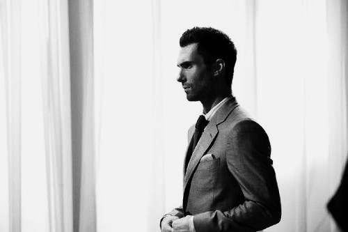Adam Levine wallpaper containing a business suit and a well dressed person titled <3