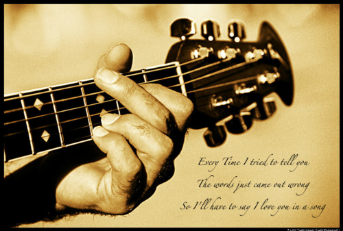 ☆ I'll Have to Say I Love آپ In a Song ☆