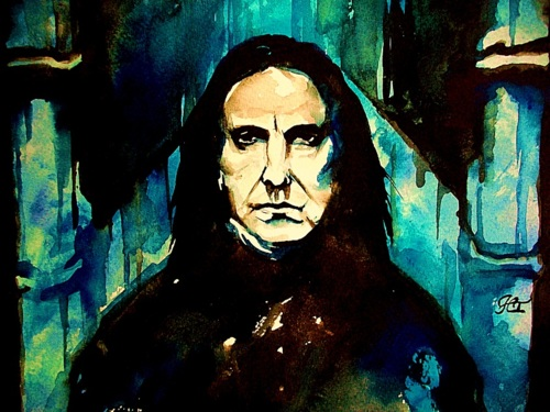 Severus Snape wallpaper possibly containing anime called ☆ Severus ☆