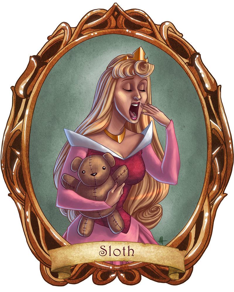 7 Disney Sins: Sloth - Disney Princess Fan Art (29904210 ...