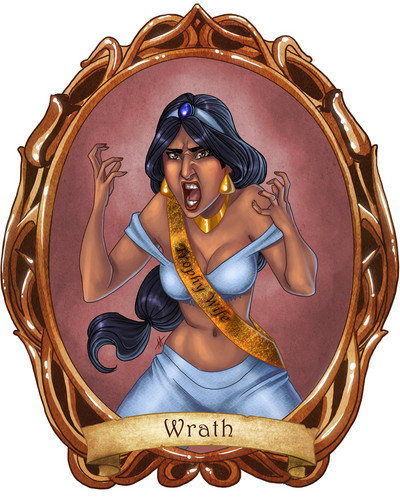 7 Disney Sins: Wrath - disney-princess Fan Art