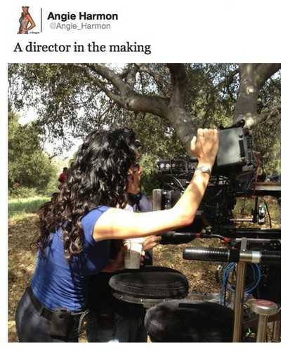 A director in the making
